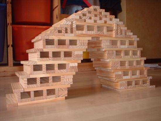 modèle construction kapla facile